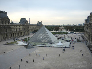 The Louver Pyramid - Paris, France