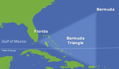 Antiga cidade submersa encontrada no Triângulo das Bermudas. Seria Atlântida? (3/6)