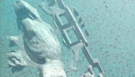 Antiga cidade submersa encontrada no Triângulo das Bermudas. Seria Atlântida? (4/6)