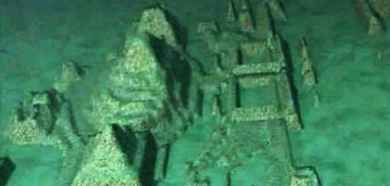 Antiga cidade submersa encontrada no Triângulo das Bermudas. Seria Atlântida? (5/6)