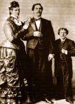 1.Ana Swain e Marido EUA 1846 -1888 2