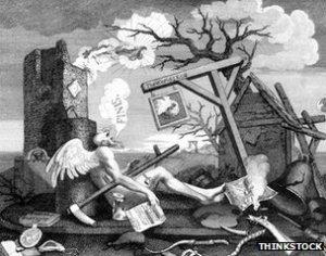 O que causou o 'Dia Escuro' de 1780