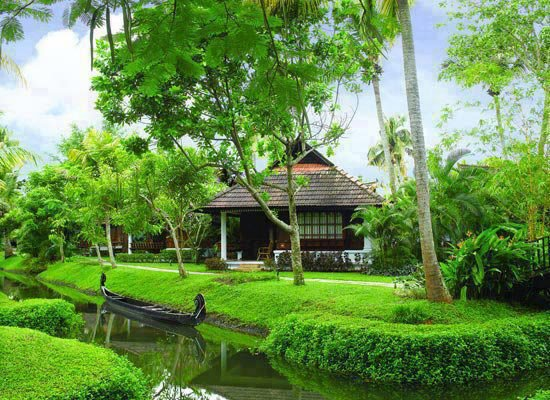 casa com rio