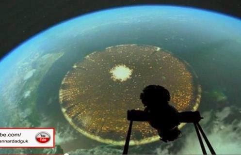 Fotografado da ISS 1