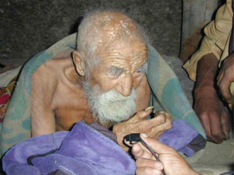 indiano de 179 anos