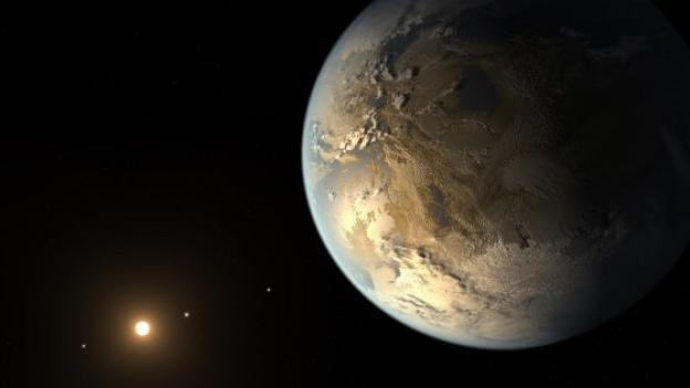 o primeiro planeta habitável encontrado pela NASA