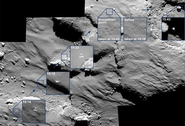 Cometa 67P possúi moléculas orgânicas, diz ESA (2/4)