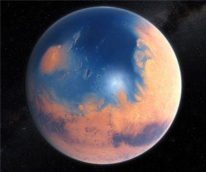 Marte - O planeta que já foi vermelho e azul 1
