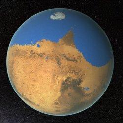 Marte - O planeta que já foi vermelho e azul 2