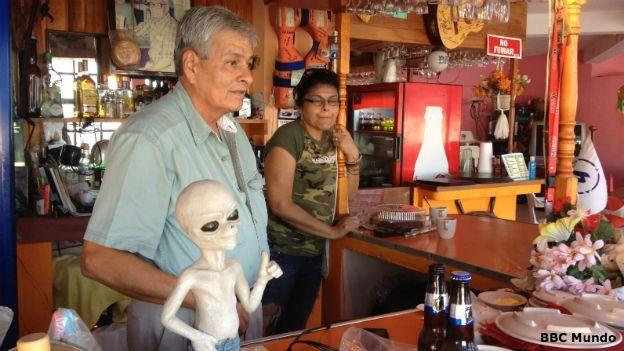 A região mexicana que acredita ser protegida por ETs 2