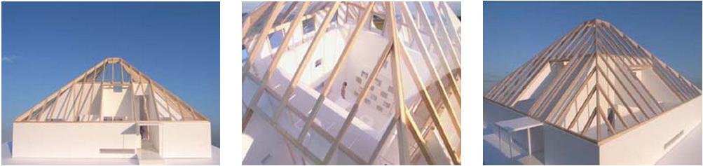 telhado piramidal