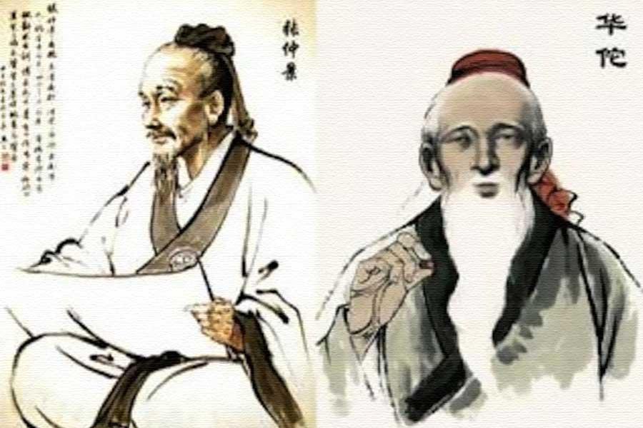 Zhang Zhongjing e Hua Tuo, dois grandes médicos chineses durante a dinastia Han