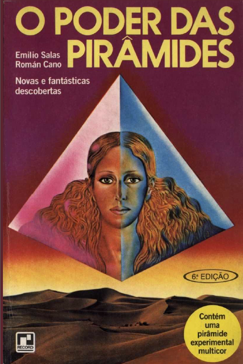 o poder das pirâmides livro capa