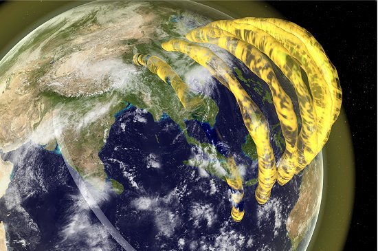 Descobertos tubos magnéticos ao redor da Terra