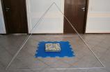 Pirâmide de alumínio A130