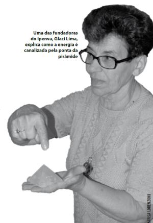 Glaci Lima, uma das fundadoras do Ipenva.