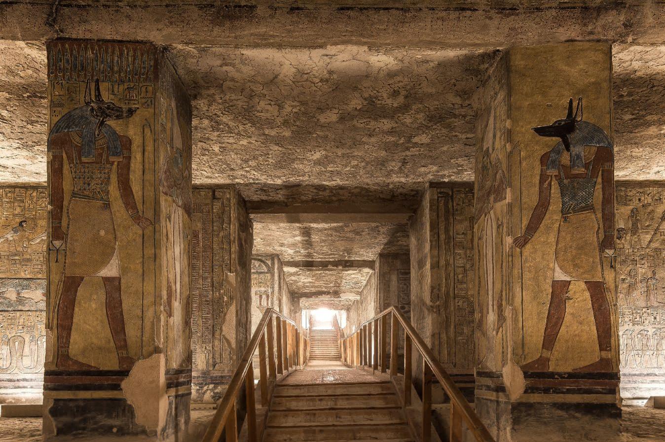 Imagens proibidas do interior das tumbas de Vale dos Reis 2