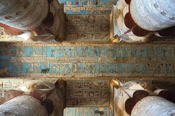 Templo egípcio de 4200 anos tem obras de artes esplendorosas e bem preservadas 1