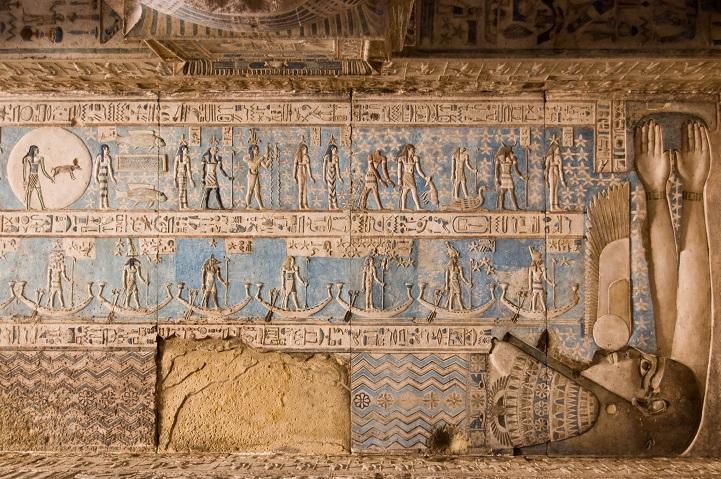 Templo egípcio de 4200 anos tem obras de artes esplendorosas e bem preservadas 2