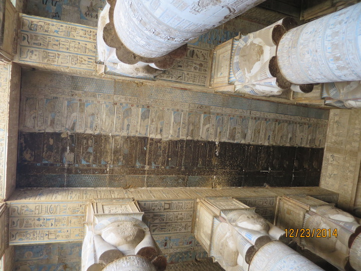 Templo egípcio de 4200 anos tem obras de artes esplendorosas e bem preservadas 3
