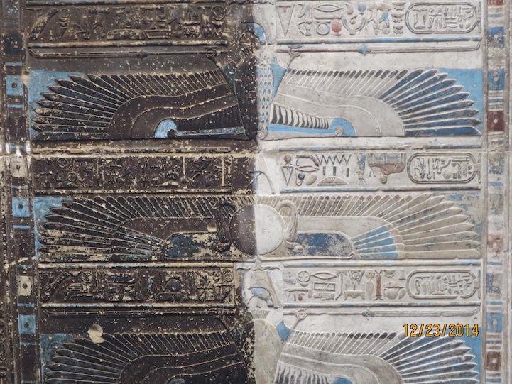 Templo egípcio de 4200 anos tem obras de artes esplendorosas e bem preservadas 4