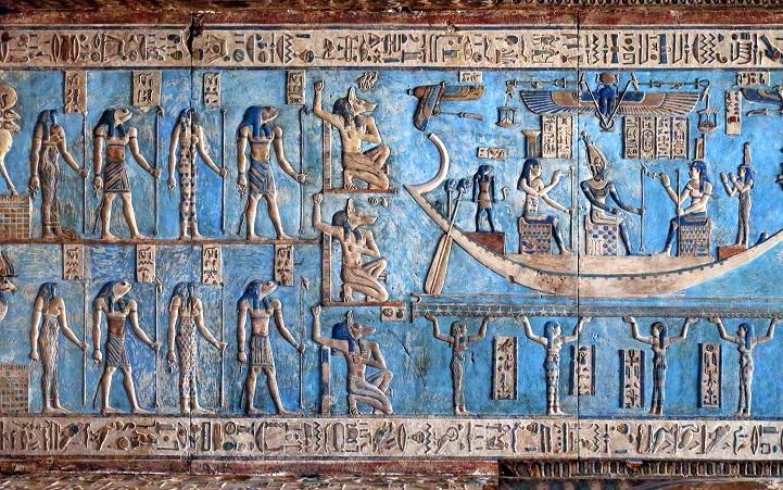 Templo egípcio de 4200 anos tem obras de artes esplendorosas e bem preservadas 5