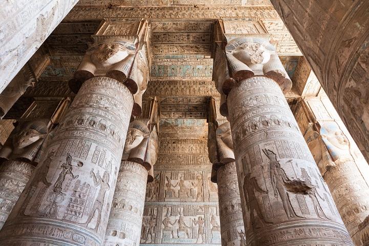 Templo egípcio de 4200 anos tem obras de artes esplendorosas e bem preservadas 6