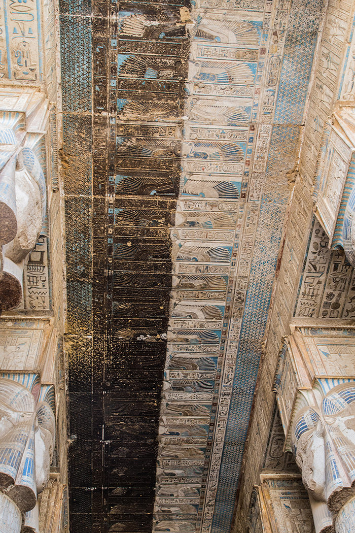 Templo egípcio de 4200 anos tem obras de artes esplendorosas e bem preservadas 7