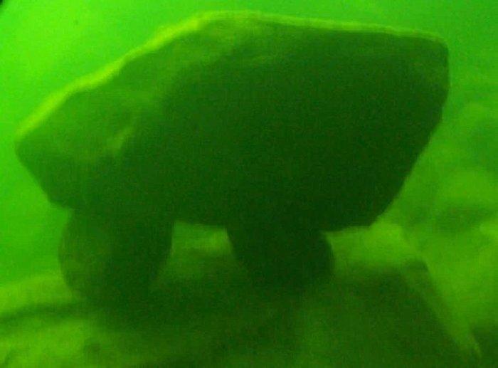 Civilização anterior a era do gelo é encontrada no fundo de um lago